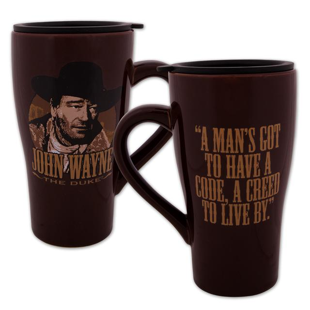 John Wayne 16oz Ceramic Travel Mug