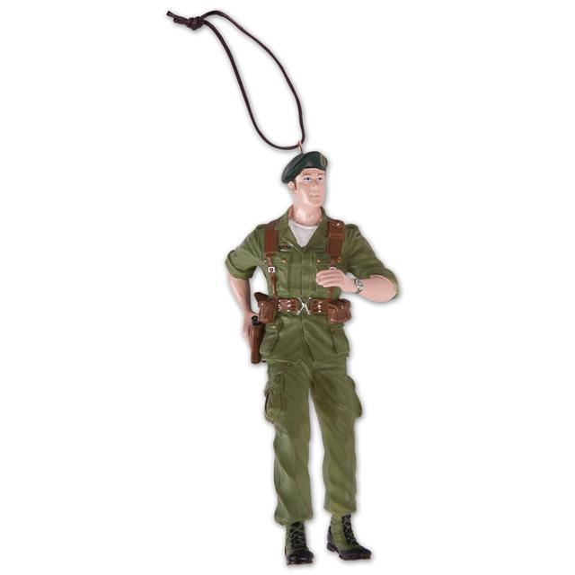 "John Wayne ""Green Beret"" Ornament"