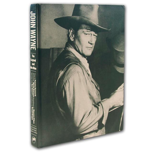 John Wayne: The Legend and the Man (Hardback Book)