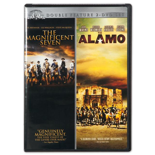 "John Wayne ""Magnificent Seven/The Alamo"" Double Feature DVD"