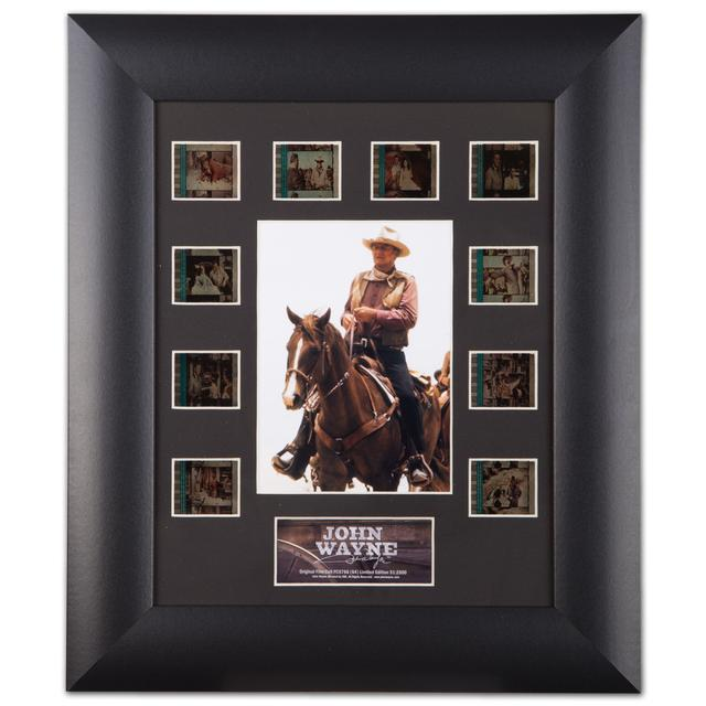 "John Wayne Film Cell Mini Montages 11"" x 13"" Framed Collectable Picture"