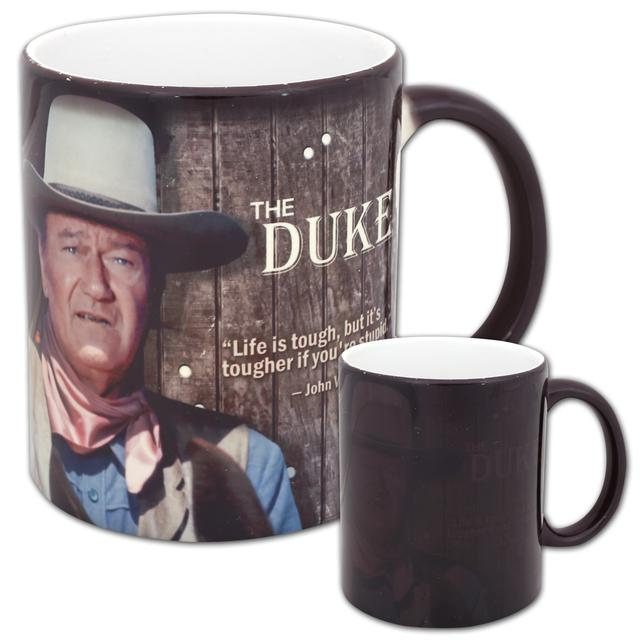 "John Wayne Johne Wayne ""The Duke"" Morphing Film Cell Mug"