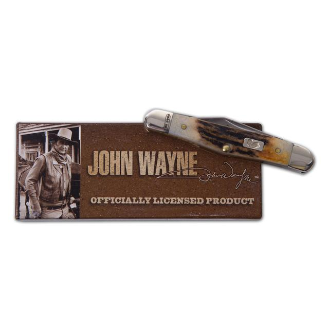 John Wayne Burnt Stag Half Whittler Knife