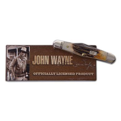 John Wayne Burnt Stag Half Whittler Knife