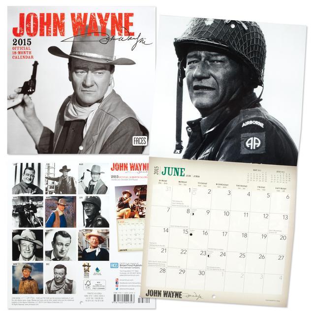John Wayne 2015 Mini Calendar