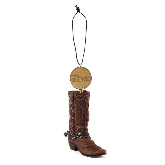 John Wayne Boot Ornament