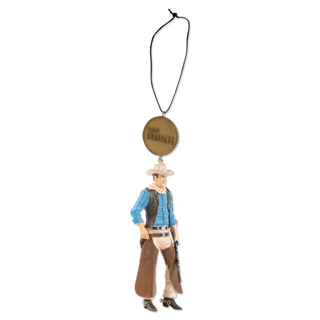 John Wayne w/ Rifle Ornament