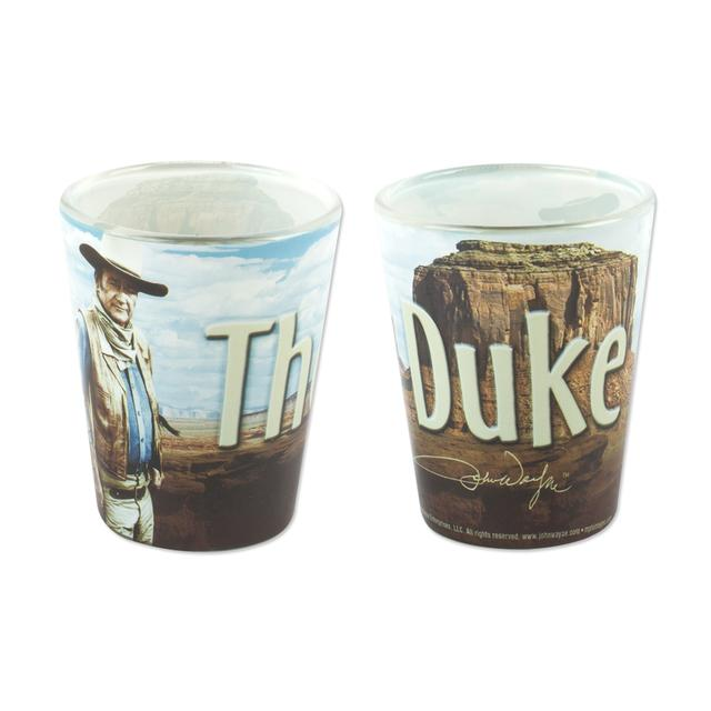 "John Wayne ""The Duke"" Shot Glass"