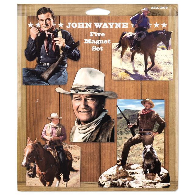 John Wayne 5 pc. Magnet Set - SAME AS 8WAM064