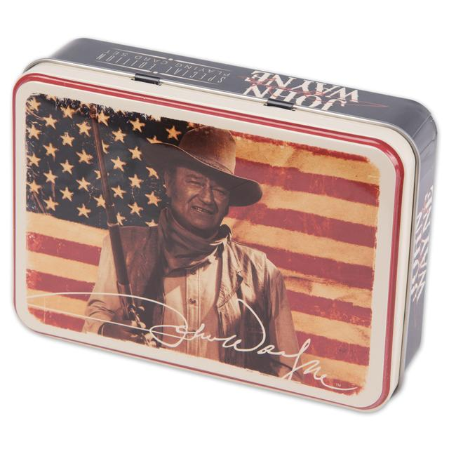 John Wayne Playing Card Tin Set - Special Edition