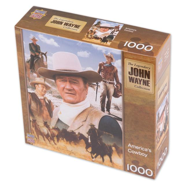 John Wayne America's Cowboy 1000 pc. Puzzle