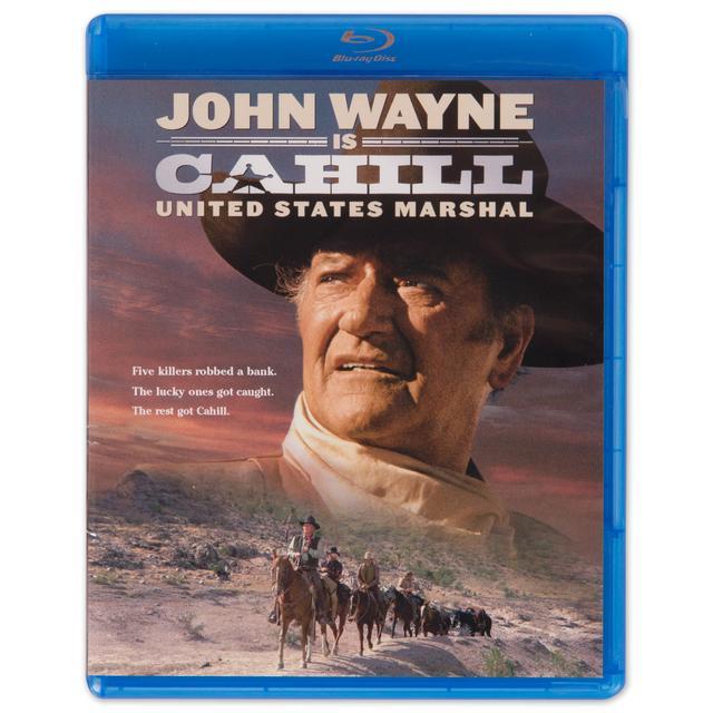 """John Wayne """"Cahill US Marshall"""" Blu-Ray"""