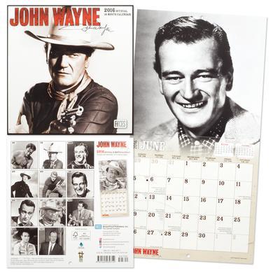 John Wayne 2016 Mini 7x7 Calendar