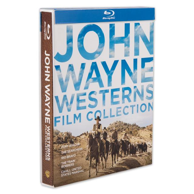 John Wayne Western Collection BluRay DVD
