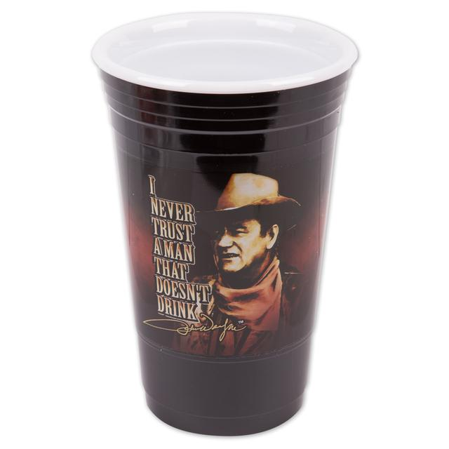John Wayne Reuseable Party Cup