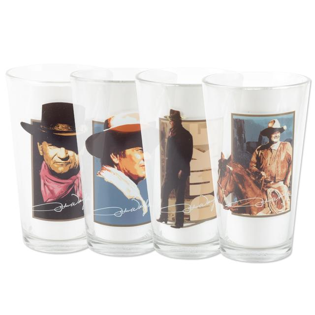 John Wayne 16 oz. Glass Set