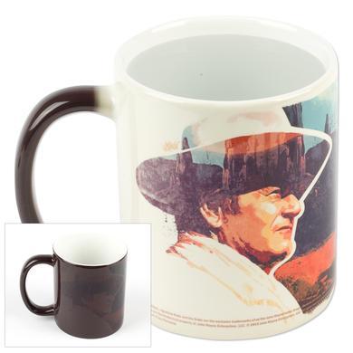 """John Wayne """"Yesterday"""" Morphing Mug"""