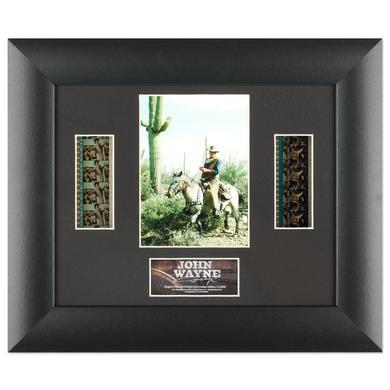 John Wayne Double Framed Filmcell