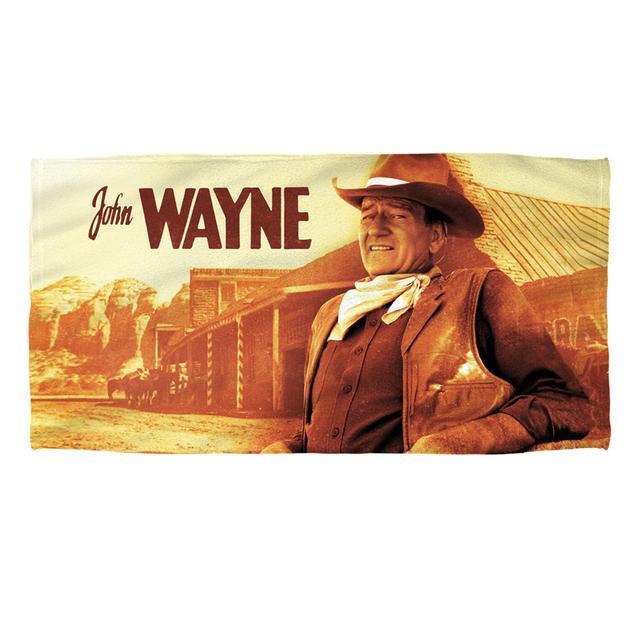 John Wayne Old West Beach Towel