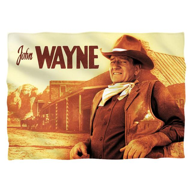 John Wayne Old West Pillow Case