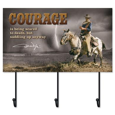John Wayne Courage Hat Rack