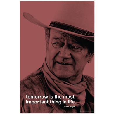 John Wayne Tomorrow 24x36inch Poster
