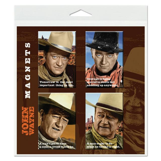 John Wayne Magnet Set (Set of 4)