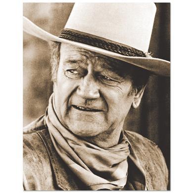 John Wayne Head Tilt 11x14inch Print