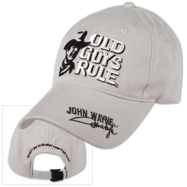 "John Wayne Old Guys Rule ""Got to Do"" Cap"