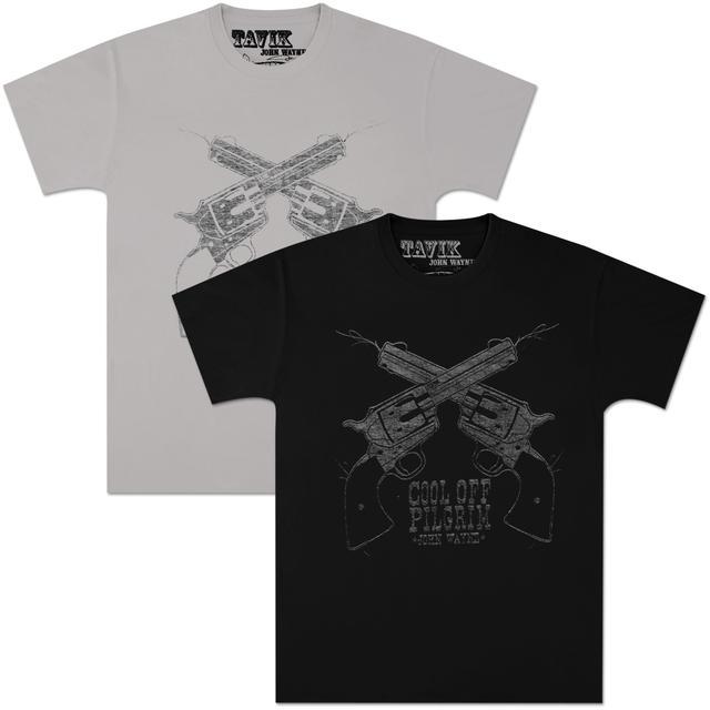 """John Wayne Tavik """"Pilgrim"""" Unisex T-shirt"""