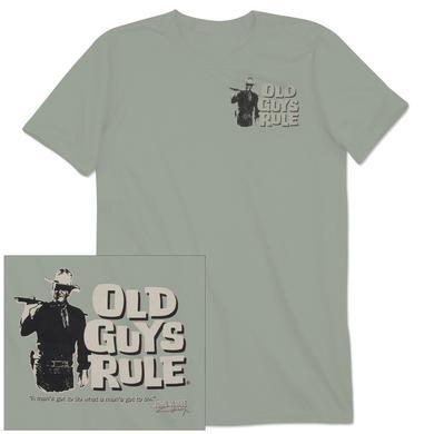 "John Wayne Old Guys Rule ""Man's Gotta Do"" Unisex T-shirt"