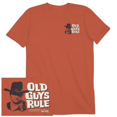 "John Wayne Old Guys Rule ""Code"" Unisex T-shirt"