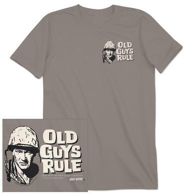 "John Wayne Old Guys Rule ""Can't Run"" Unisex T-shirt"