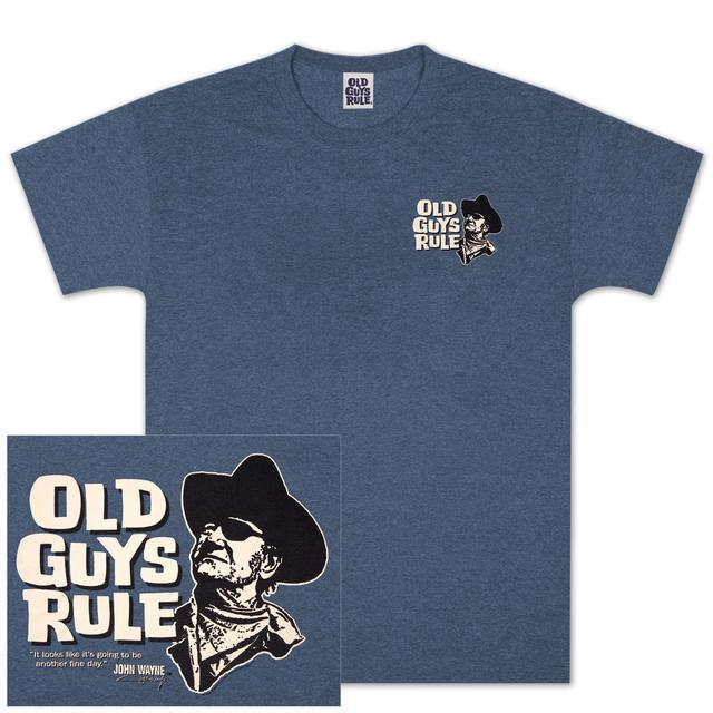 "John Wayne Old Guys Rule ""Another Fine Day"" T-shirt"