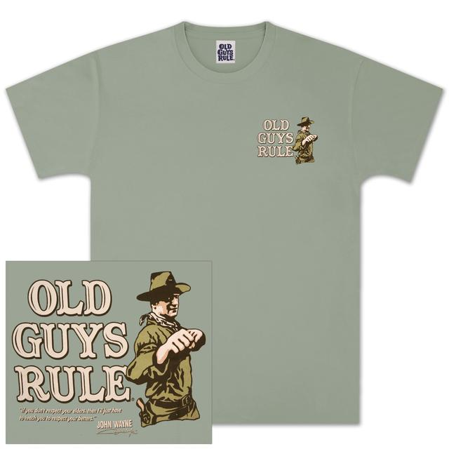 "John Wayne Old Guys Rule ""Fists"" T-shirt"
