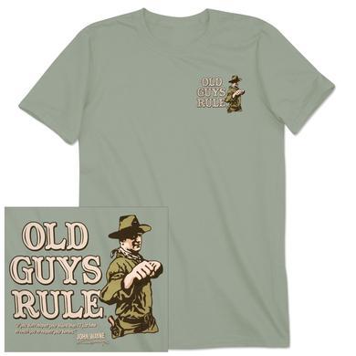 "John Wayne Old Guys Rule ""Fists"" T-shirt"