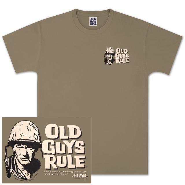 "John Wayne Old Guys Rule ""Can't Run From"" T-shirt"