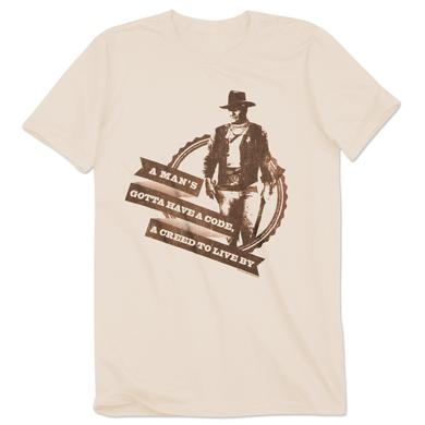 John Wayne A Man's Creed T-Shirt