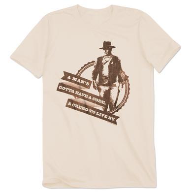 John Wayne A Man's Creed T-Shirt