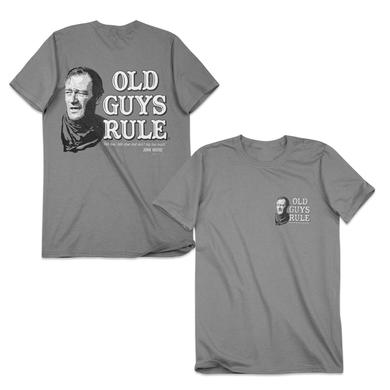 "John Wayne Old Guys Rule ""Don't Talk Too Much"" T-Shirt"