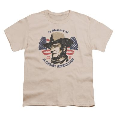 John Wayne Great American Youth T-Shirt