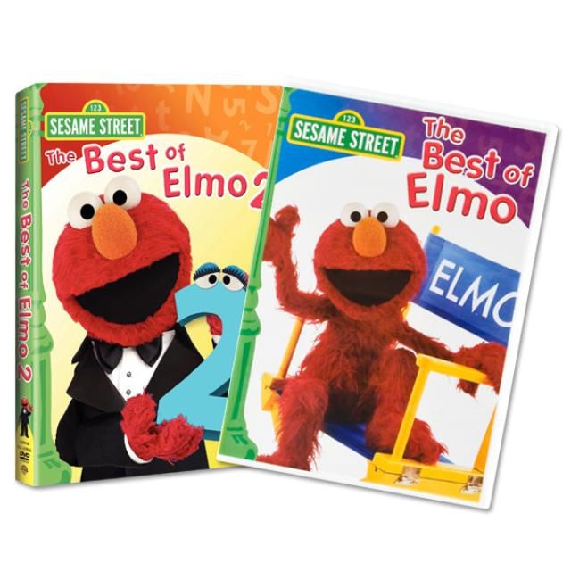 Sesame Street The Best of Elmo DVD Bundle