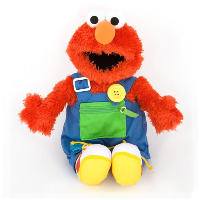 Sesame Street Teach Me Elmo Plush Doll