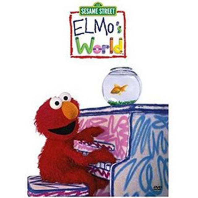 Sesame Street Elmo's World DVD