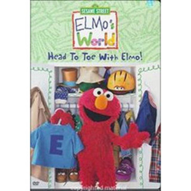 Sesame Street Elmo's World: Head to Toe DVD