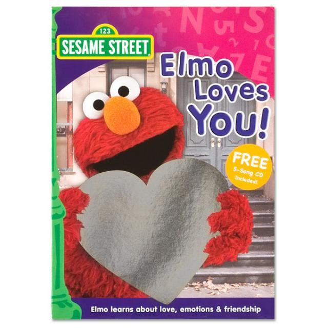 Sesame Street Elmo Loves You! DVD