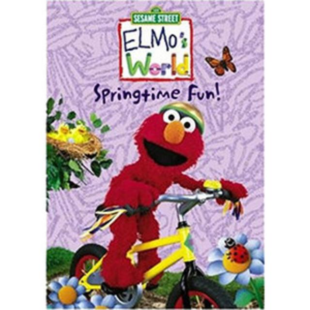 Sesame Street Elmo's World: Springtime Fun DVD