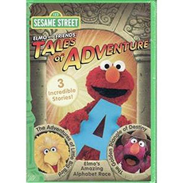Sesame Street Elmo & Friends Tales Of Adventure DVD