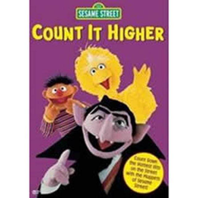 Sesame Street Count It Higher DVD