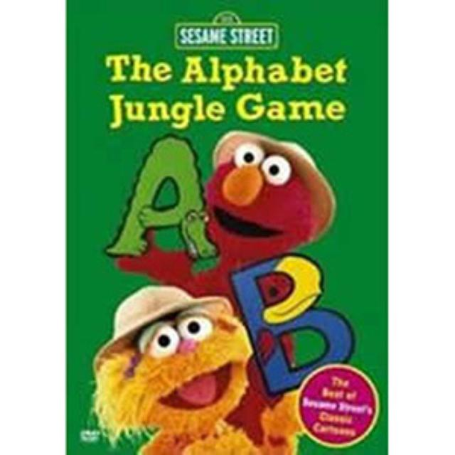 Sesame Street The Alphabet Jungle Game DVD